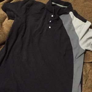 Other - Tri color polo shirt